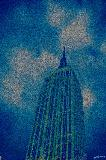 Artwork title: Empire State Cloudy Artwork medium Digital Photograph Altered