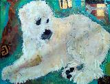 Artwork title:  Pet Portraits,  Personalities, ETC Artwork medium acrylics.collage